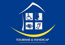 logo tourisme et handicap 4 handicaps